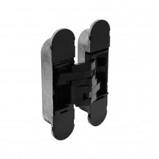 Intersteel Scharnier 130 x 30 mm zamak – zwart 3D verstelbaar
