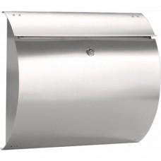 Formani BASICS KSIRIUS4 mailbox inclusief cilinderslot mat roestvast staal