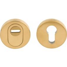 Formani BASICS KBVEIL-KT IM4 massieve massieve veiligheidscilinderrozet met kerntrekbeveiliging SKG*** PVD mat goud