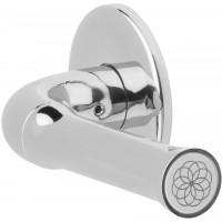 Formani NOUR KEV100/64 IP4 massieve deurkruk dubbel geveerd op rozet gepolijst roestvast staal