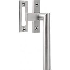 Formani BASICS KLB-RB IN R4 massief raamboompje tbv naar buitendraaiend raam inclusief contraplaatje, niet afsluitbaar RW mat roestvast staal