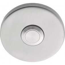 Formani BASICS KLB50 IN4 beldrukker mat roestvast staal, met roestvast stalen drukkertje