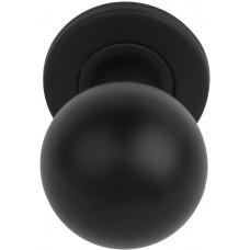 Formani BASICS KLB501D NM4 voordeurknop draaibaar op rozet mat zwart