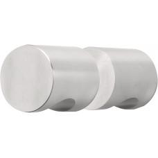 Formani BASICS KLB52G IN4 set massieve glasdeurknoppen mat roestvast staal