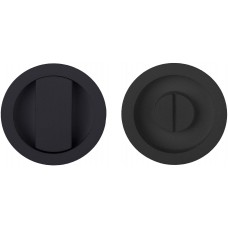 Formani BASICS KLB57S NM4 set inbouwkommen te verlijmen inclusief 6mm stift mat zwart