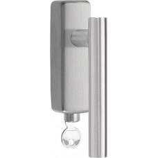 Formani BASICS KLBVII-19-DKLOCK-O IN R/L4 draaikiepgarnituur afsluitbaar mat roestvast staal