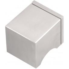 Formani SQUARE KLSQ51PD IC4 massieve knopkruk ongeveerd op rozet PVD mat roestvast staal