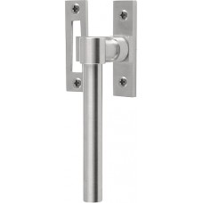 Formani ONE KPB-RB IN R4 massief raamboompje tbv naar buitendraaiend raam inclusief contraplaatje, niet afsluitbaar RW mat roestvast staal