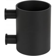 Formani ONE KPB101 NM4 tandenborstelhouder met muurbevesting mat zwart