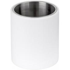 Formani ONE KPB102 INCO4 tandenborstelhouder vrijstaand mat roestvast staal AISI 316/wit Corian®