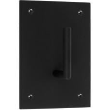 Formani ONE KPB105 NM4 massieve haak vast op onderplaat mat zwart