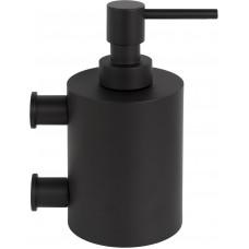 Formani ONE KPB501 NM4 zeepdispenser met muurbevesting mat zwart